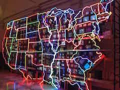 Nam June Paik: Electronic Superhighway
